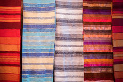 Moroccan blankets Stock Photography