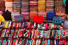 Moroccan bonnets royalty free stock image