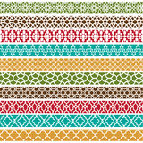 Moroccan Border Patterns Royalty Free Stock Photography