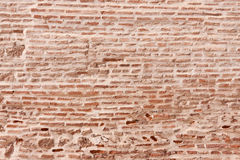 Moroccan Brick Wall Royalty Free Stock Photo