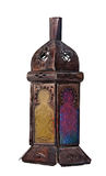 Moroccan bronze lantern Stock Images
