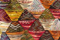 Moroccan carpet, closeup Stock Photos