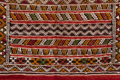 Moroccan carpet, closeup Stock Photo