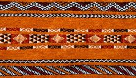 Moroccan carpet detail Royalty Free Stock Image