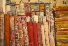 Moroccan carpets Stock Photos