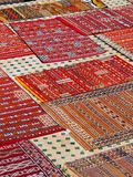 Moroccan Carpets Stock Photography