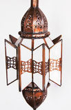 Moroccan carved luminaire Royalty Free Stock Photos