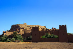 Moroccan Casbah Royalty Free Stock Photos