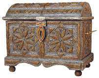 Moroccan chest1 Stock Photo