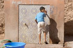 Moroccan child Royalty Free Stock Photography
