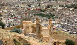 Moroccan city fortified gate - Fez Royalty Free Stock Photos