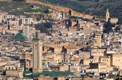 Moroccan Cityview Stock Photography