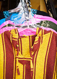 Moroccan clothes Royalty Free Stock Photography