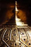 Moroccan craft Copper dome royalty free stock image