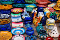 Moroccan crafts Royalty Free Stock Image