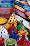 Moroccan crafts Stock Images