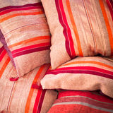 Moroccan cushions Stock Images