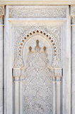 Moroccan decor of the mausoleum of Mohammed V in Rabat Royalty Free Stock Photos