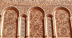 Moroccan decoration royalty free stock photo