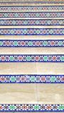 moroccan decoration of stairs royalty free stock photo