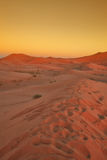 Moroccan desert dune (1). Moroccan desert dune in Merzouga, Morocco stock images