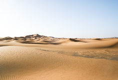 Moroccan desert dune Stock Photos