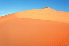 Moroccan desert dune Stock Photos