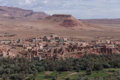 Moroccan desert mountains Stock Photography