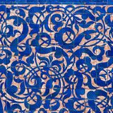 Moroccan detail Royalty Free Stock Photos