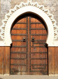 Moroccan door Stock Photography