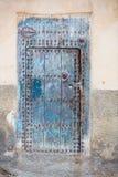 Moroccan door Stock Images
