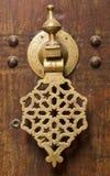 Moroccan door knocker. An old door knocker photographed in Morocco Stock Photography