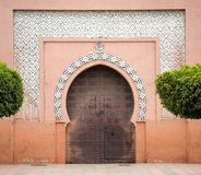 Moroccan door Royalty Free Stock Photography