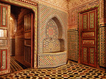 Moroccan doorway entrance Royalty Free Stock Images