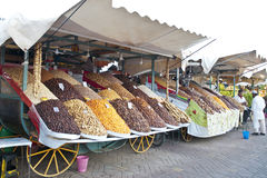 Moroccan dried fruits royalty free stock photography