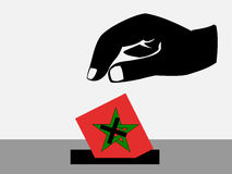 Moroccan election Royalty Free Stock Image