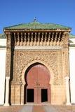 Moroccan Entrance (1). Moroccan entrance, door way, entry, exit, pattern royalty free stock image