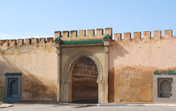 Moroccan entrance Stock Photography