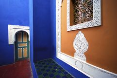 Moroccan entrance Stock Photos