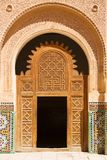 Moroccan entrance. Door way, entry, exit, pattern Stock Images