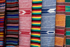Moroccan fabrics royalty free stock photography