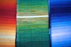 Moroccan fabrics stock photography