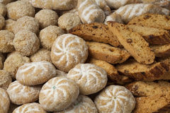 Moroccan festive homemade cookies Royalty Free Stock Photo