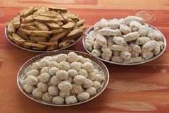 Moroccan festive homemade cookies Stock Images