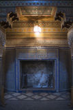 Moroccan fireplace Royalty Free Stock Photos