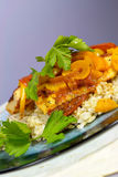 Moroccan Fish Tagine stock image