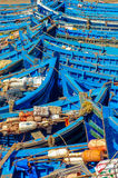 Moroccan fishing boats 3 stock photo