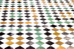 Moroccan floor mosaic Stock Photos