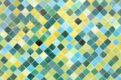 Moroccan floor mosaic as background Stock Image