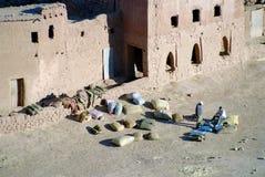 moroccan folk Fotografering för Bildbyråer
